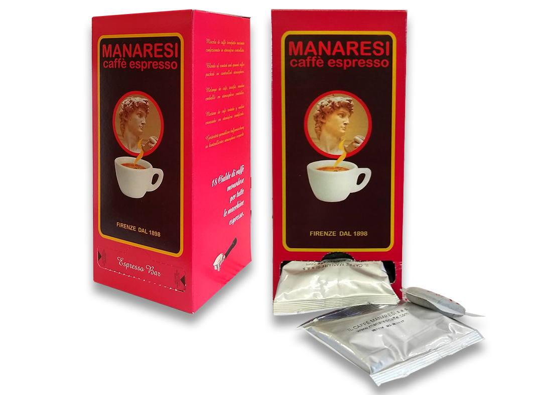 18 Coffee EsE Pods (125 gr.)Arabica